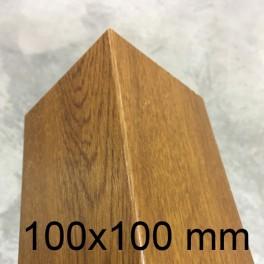 Cornière PVC chêne doré 100 x 100 mm