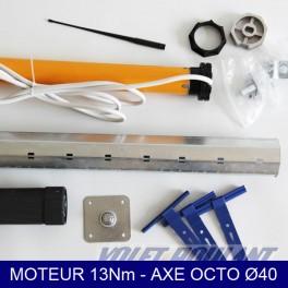 Axe motorisé 13Nm kit complet