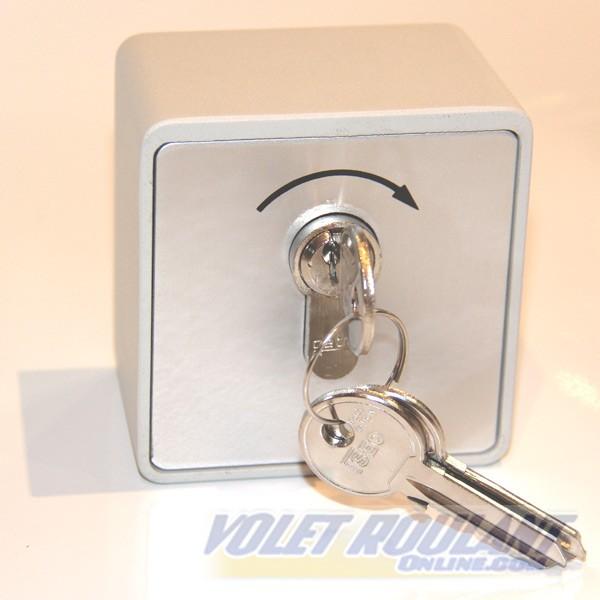 Contacteur cl en saillie pour porte de garage sectionnelle for Notice de montage porte de garage sectionnelle france fermeture