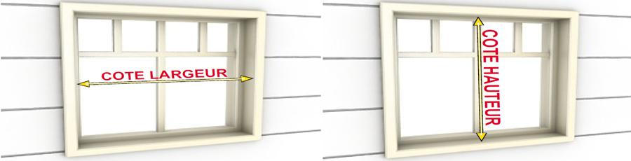 comment prendre les mesures de volet roulant r novation. Black Bedroom Furniture Sets. Home Design Ideas