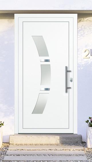 porte d 39 entr e pas cher vitr e sur mesure. Black Bedroom Furniture Sets. Home Design Ideas